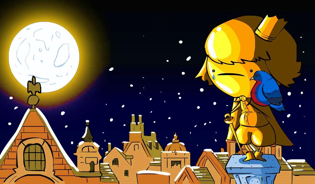 ,不知你有否聽過? 有隻小燕子要飛到南方過冬,他的朋友六個星期前都已經飛往埃及了,但他卻遠遠落後… 有一夜,小燕子飛到一個城市,他在空中飛行時,看見一座雕像。身上貼滿金箔,兩眼是藍寶石,佩劍上有顆大大的紅寶石。這位王子,生前並不知道何為眼淚,因為他住在禁止憂傷的王宮裏,所以宮廷都喚他作「快樂王子」。他死後,朝臣們為他建造雕像,高高在上,使他可看見城內的所有事物。 小燕子起初打算睡在雕像的腳上,但他把頭埋進翅膀時,卻感到一滴、一滴的水珠打在他身上。他舉頭一看,發現原來快樂王子正在哭泣,因為他看